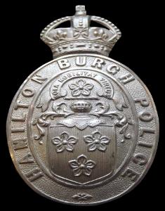 Hamilton Burgh Badge