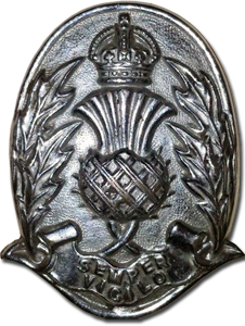 Semper Vilgilo -The national cap badge