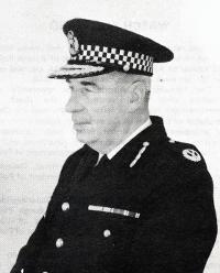 C.C. Clark, Airdrie Burgh Police